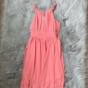 Rare Editions coral girls dress size 14